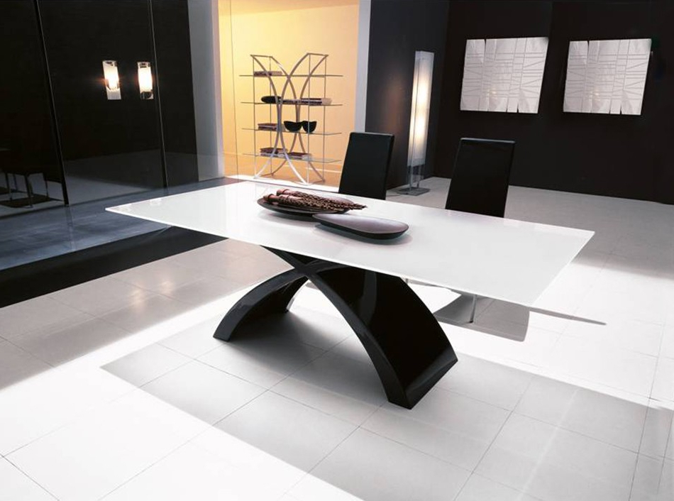 Most Up To Date Italian Glass Dining Table Tokyotonin Casa Within Tokyo Dining Tables (View 10 of 20)