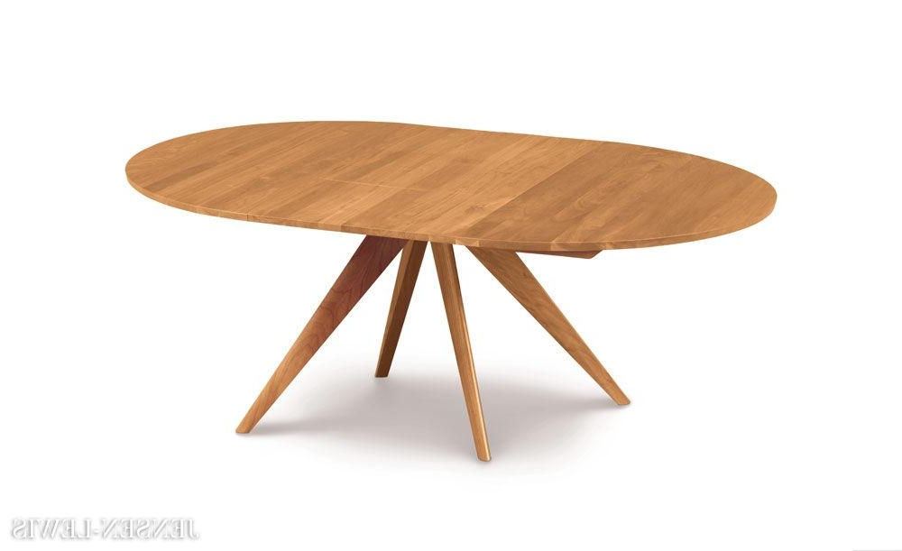 Most Up To Date Jaxon Round Extension Dining Tables With Regard To Hampstead Soft Grey And Oak Small Round Extending Dining Table (View 8 of 20)