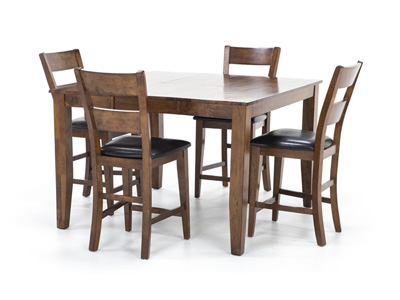 Most Up To Date Laurent 5 Piece Round Dining Sets With Wood Chairs Within Dining – Dining Sets (View 11 of 20)