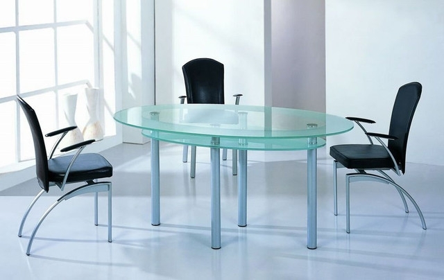 Most Up To Date Lienzoelectronico: Glass Dining Tables Regarding Blue Glass Dining Tables (View 8 of 20)