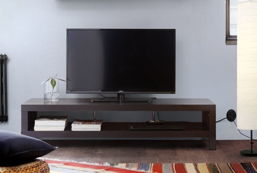 Most Up To Date Media Furniture – Entertainment Units, Tv Tables & Cabinets– Ikea Pertaining To Ina Matte Black 60 Inch Counter Tables With Frosted Glass (View 20 of 20)