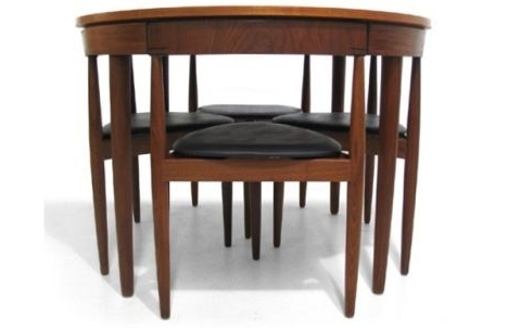 Most Up To Date Modern, Compact Dining Set (View 3 of 20)