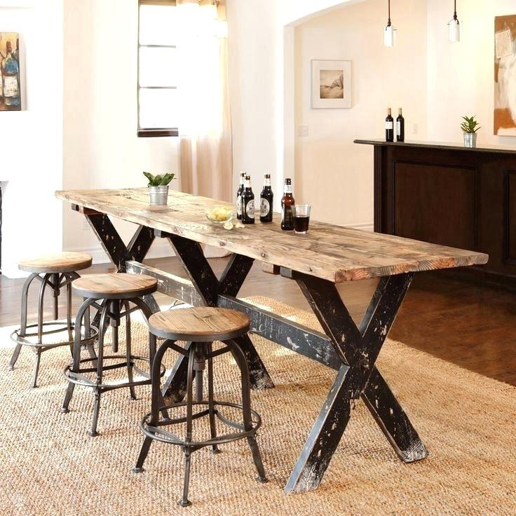 Most Up To Date Narrow Dining Tables Regarding Narrow Dining Tables For Small Spaces Table Ideas Long Room Interior (View 10 of 20)
