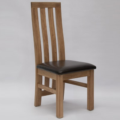 Most Up To Date Paris Oak Dining Chair (pair) – Robson Furniture In Oak Dining Chairs (View 12 of 20)