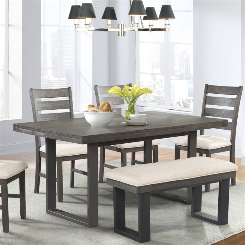 Most Up To Date Picket House Furnishings Sullivan Dining Table In Dark Ash – Dsw100Dt With Regard To Dark Dining Tables (Gallery 15 of 20)