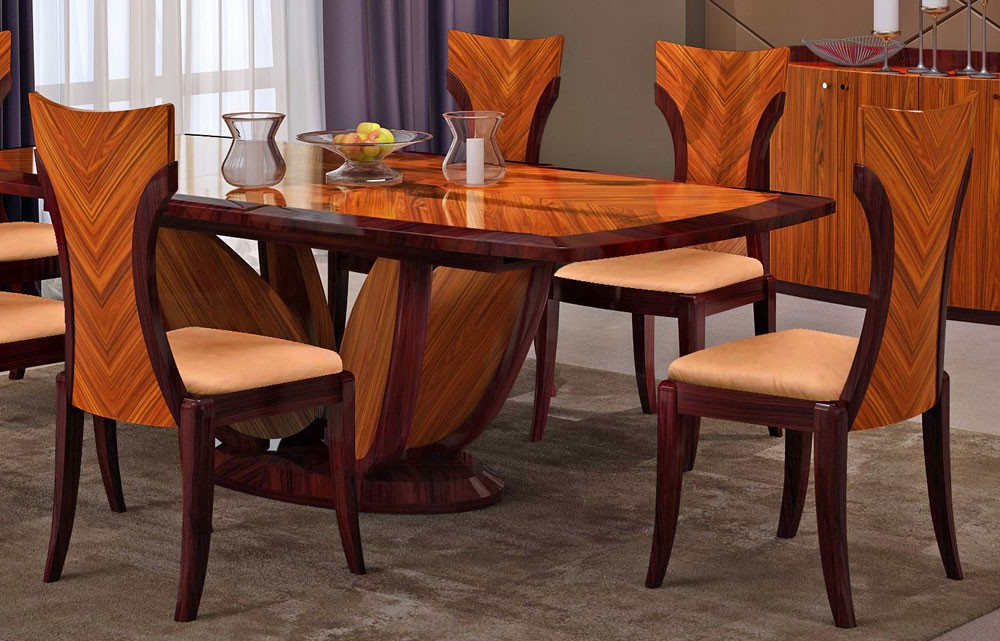 Most Up To Date Primrose Italian Modern Dining Table Set Intended For Modern Dining Tables (View 13 of 20)