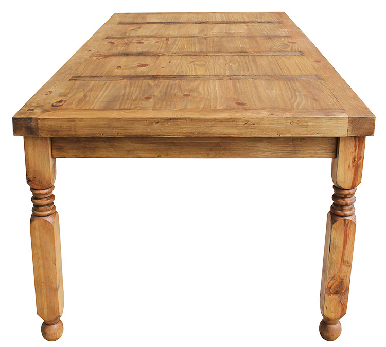 Most Up To Date Rustic Pine Collection – Lyon Dining Table – Mes24 With Regard To Lyon Dining Tables (View 8 of 20)