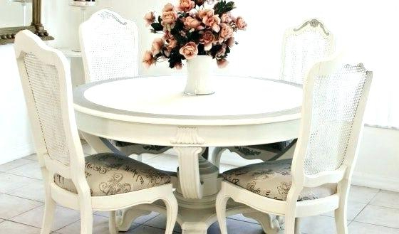 Most Up To Date Shabby Chic Dining Chairs Throughout Image Of Shabby Chic Furniture Sets Color Table And Chairs Ebay (View 16 of 20)