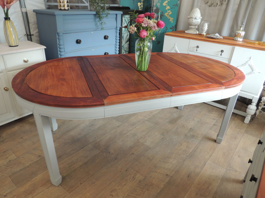 Most Up To Date Shabby Chic Extending Dining Table For People Eclectivo London From Inside Shabby Chic Extendable Dining Tables (View 7 of 20)