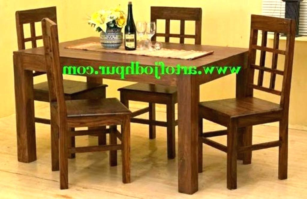 Most Up To Date Solid Wood Dining Table And Chairs Ebay Furniture Uk Sets Sale Throughout Second Hand Oak Dining Chairs (Gallery 14 of 20)