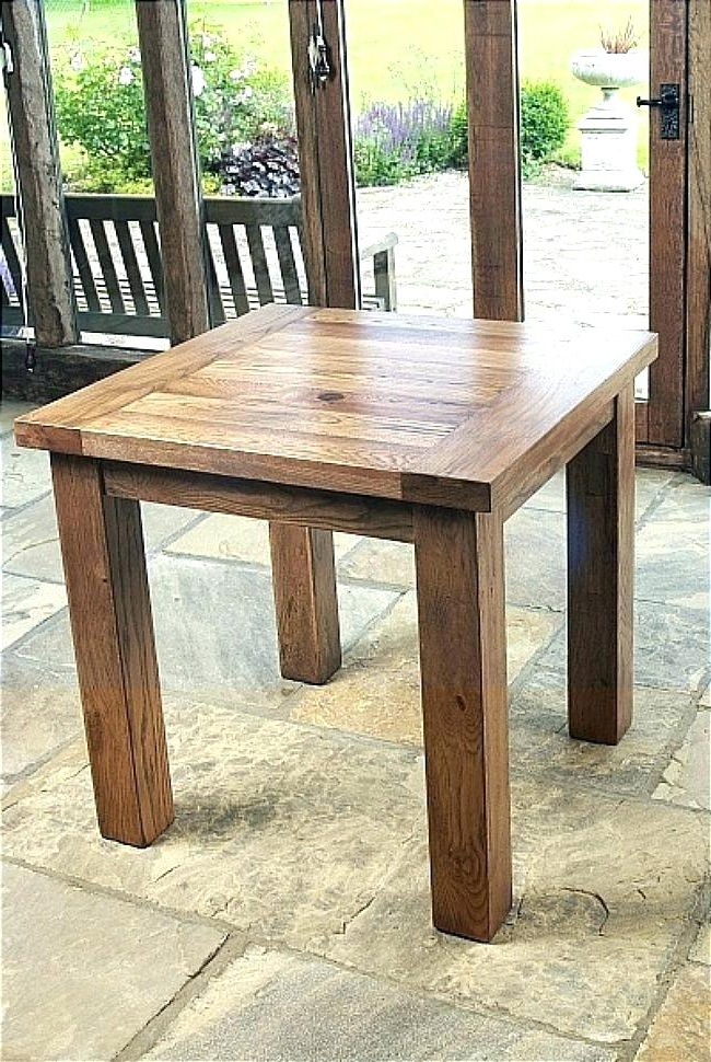 Most Up To Date Square Oak Dining Tables For Square Oak Dining Tabl Square Oak Dining Table For 4 2018 Round (View 10 of 20)