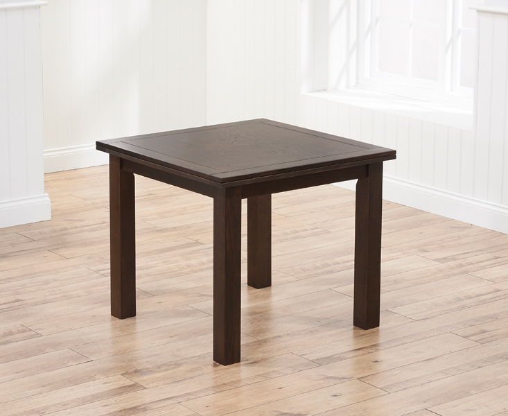 Most Up To Date Square Oak Dining Tables Regarding Buy Mark Harris Sandringham Solid Dark Oak Square Flip Top Extending (View 11 of 20)