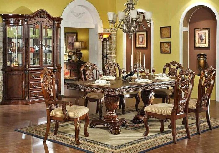 Most Up To Date Traditional Dining Tables With Regard To (View 5 of 20)
