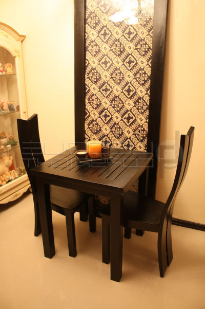 """Most Up To Date Two Seater Dining Tables And Chairs With Regard To Two Seater, Three Seater """"Lufe"""" Dining Table, With Slatted Table Top (View 13 of 20)"""