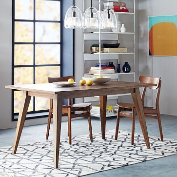 """Most Up To Date Versa Dining Table 48"""" At West Elm – Dining Tables – Dining Room Within Helms 7 Piece Rectangle Dining Sets With Side Chairs (View 12 of 20)"""