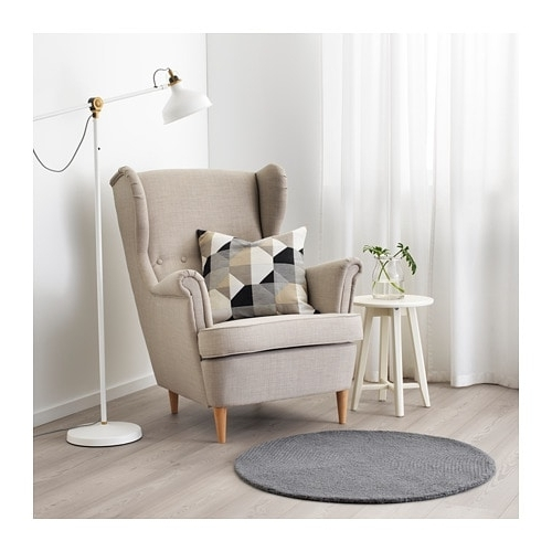 Most Up To Date Vostrup Rug, Low Pile Light Grey 90 Cm – Ikea With Regard To Pilo Grey Side Chairs (View 13 of 20)