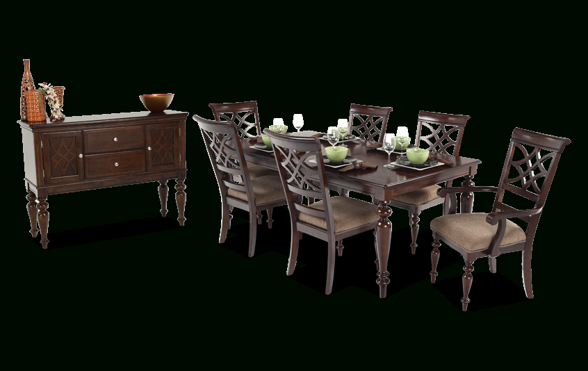 Most Up To Date Woodmark 8 Piece Dining Set With Sideboard (View 19 of 20)