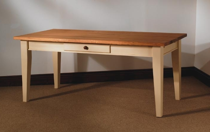 Mottisfont Painted Pine 6Ft X 3Ft Dining Table Pertaining To Trendy 3Ft Dining Tables (View 8 of 20)
