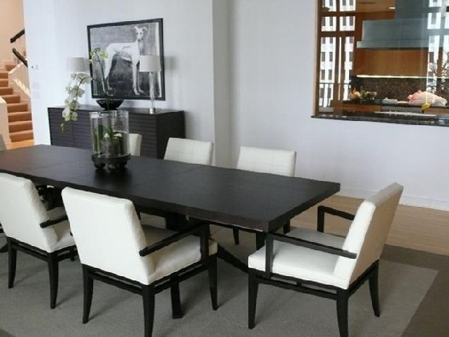 Narrow Dining Tables Inside Favorite Narrow Dining Tables (View 6 of 20)