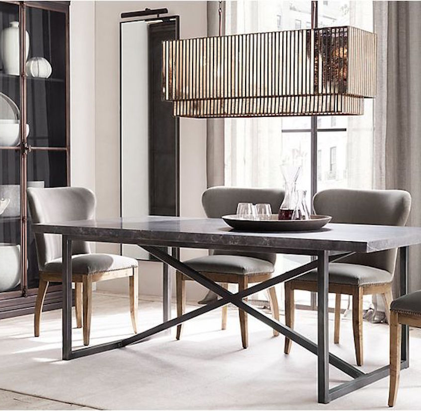 Narrow Dining Tables With Regard To Famous The Best Narrow Dining Table For A Small Dining Room (Gallery 7 of 20)