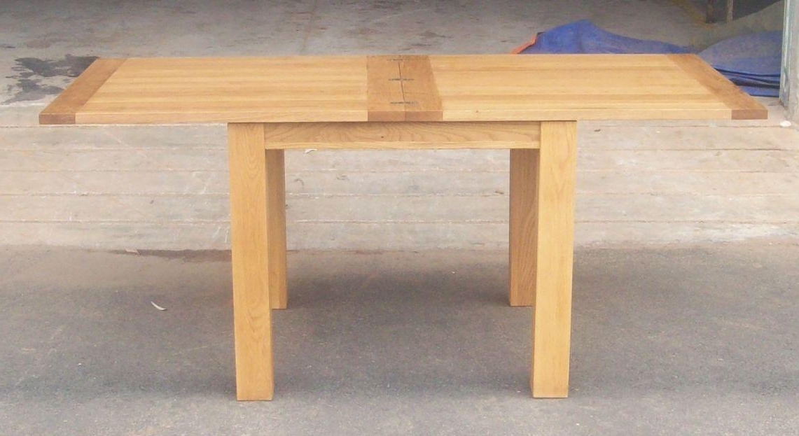 Narrow Folding Console Tables Inside Most Current Flip Top Oak Dining Tables (View 2 of 20)
