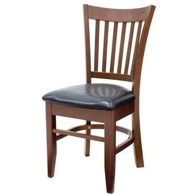 Natural Brown Teak Wood Leather Dining Chairs Pertaining To Most Recently Released Heavy Duty Dining Room Chairs – Foter (View 7 of 20)