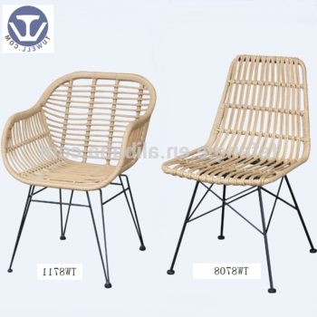 Natural Rattan Metal Chairs For Most Recently Released Tw8711 Metal Rattan Chair Natural And Fashion Pe Rattan Wicker (View 9 of 20)