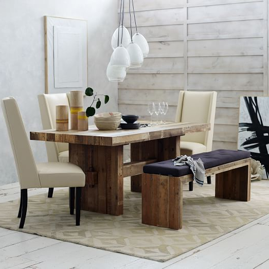 Natural Wood & Recycled Elm 87 Inch Dining Tables Pertaining To Preferred Emmerson® Reclaimed Wood Dining Table – Natural In 2018 (Gallery 1 of 20)