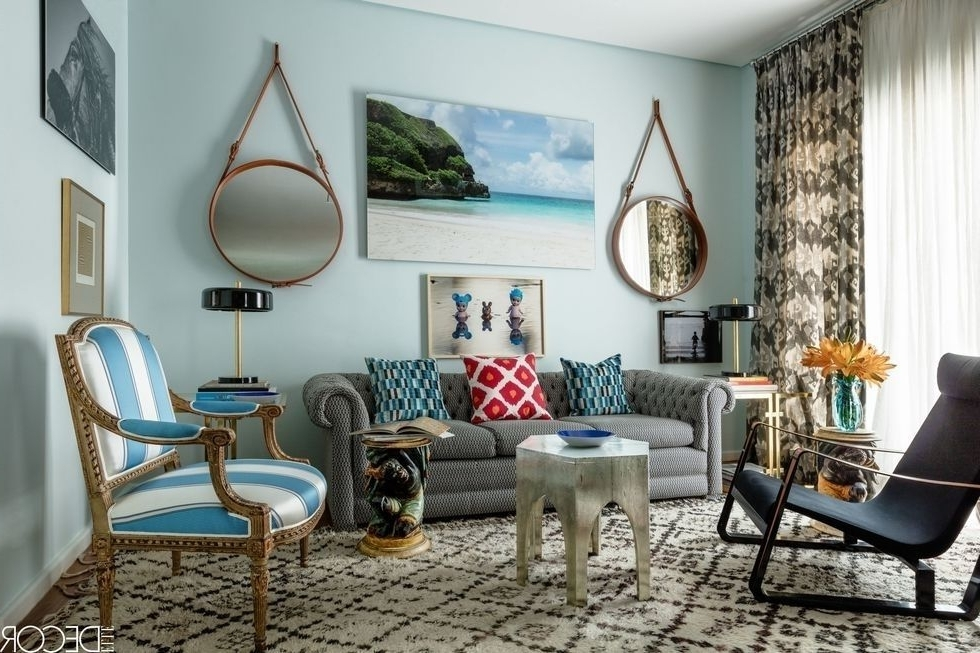 Nautical Blue Side Chairs Intended For Preferred 36 Best Blue Rooms – Ideas For Decorating With Blue (View 14 of 20)