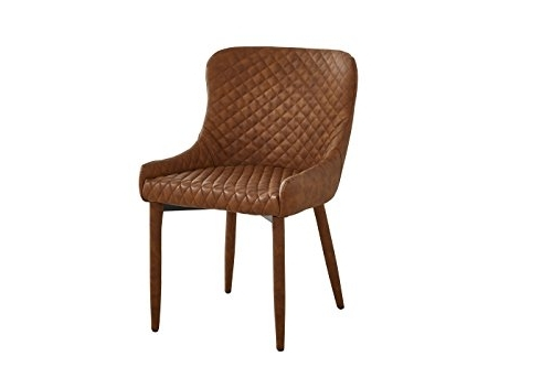 Neos Modern Furniture C150 Cn Leather Upholstered Dining Chair Inside 2017 Dodger Side Chairs (View 18 of 20)