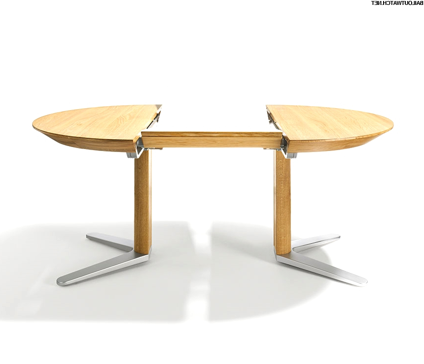 Newest 37 Incredible Round Extension Dining Table Gallery Inside Jaxon Round Extension Dining Tables (View 13 of 20)