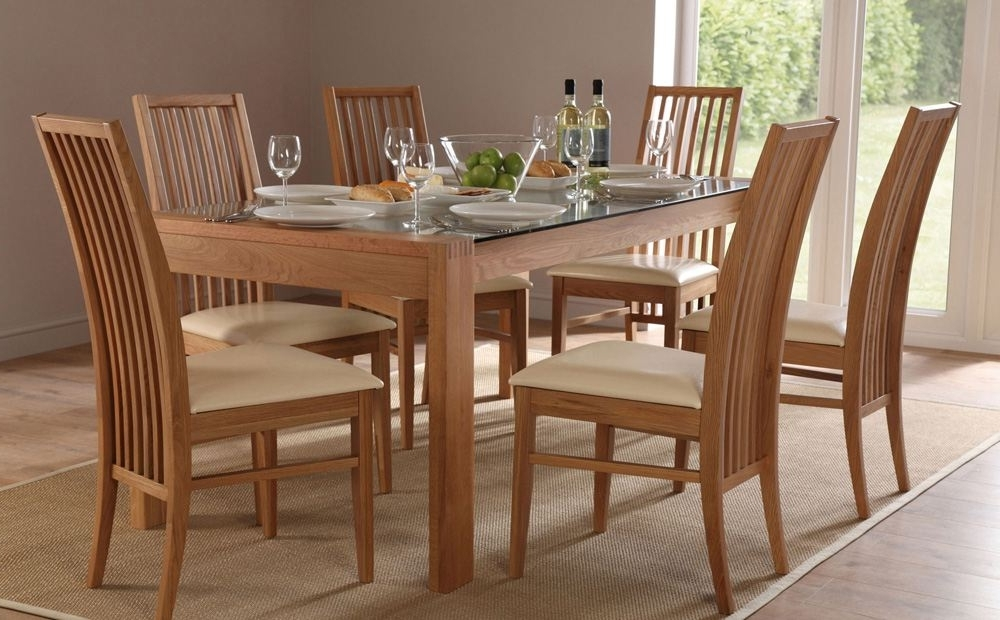 Newest 6 Chairs Dining Tables Within Selecting Designer Dining Table And Chair Set – Blogbeen (View 8 of 20)