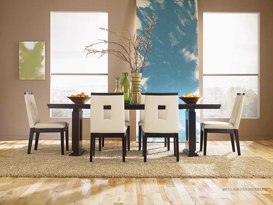Newest Asian Dining Tables Regarding Modern Furniture: New Asian Dining Room Furniture Design 2012 From (View 19 of 20)