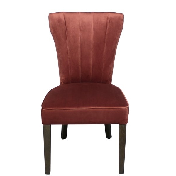 Newest Caden 6 Piece Dining Sets With Upholstered Side Chair For George Oliver Caden Clive Side Upholstered Dining Chair (View 5 of 20)