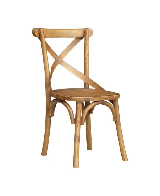 Newest Caden Side Chairs Regarding Caden Teak Dining Chair – Lite (Gallery 6 of 20)
