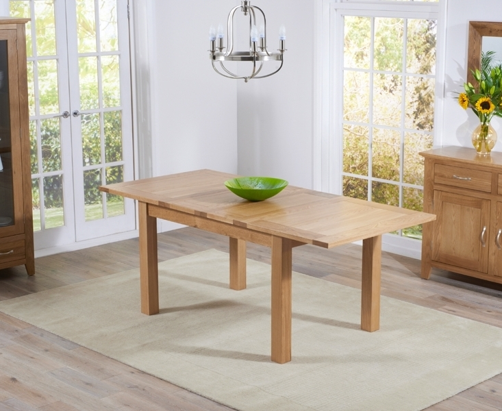 Newest Cambridge Dining Tables With Regard To Buy Mark Harris Cambridge Solid Oak Dining Table – 130Cm Rectangular (View 14 of 20)