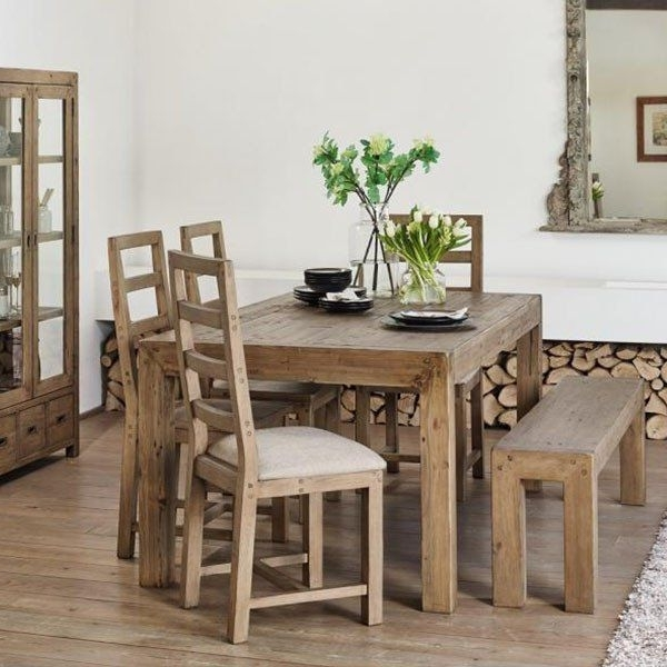 Newest Cotswold Reclaimed Wood Dining Set (View 14 of 20)