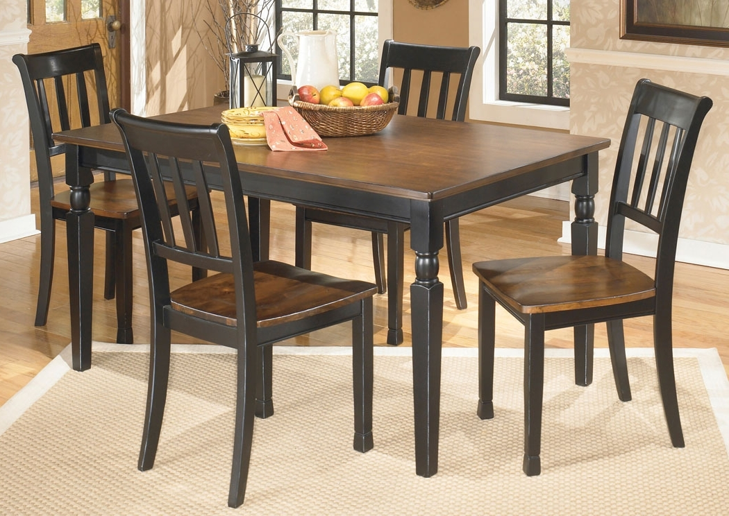 Newest Craftsman 5 Piece Round Dining Sets With Side Chairs Within Family Furniture – Perry, Ny Owingsville Rectangular Dining Table W (View 14 of 20)