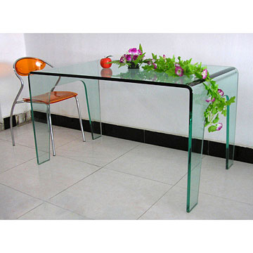 Newest Curving Glass Dining Table Intended For Curved Glass Dining Tables (View 15 of 20)