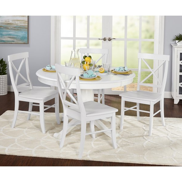 Newest Dawson Dining Tables With Regard To Shop Simple Living 5 Piece Dawson Dining Set – On Sale – Free (View 7 of 20)