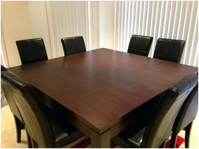 Newest Dining Table Tall Square Dining Table Seats 4 Room Bar Square Pertaining To Dining Tables Seats (View 6 of 20)