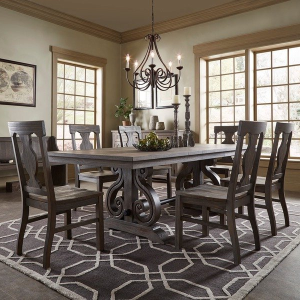 Newest Extendable Dining Tables Sets Within Shop Rowyn Wood Extendable Dining Table Setinspire Q Artisan (View 7 of 20)