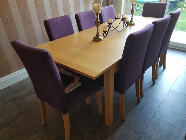 Newest Extending Dining Table 10 Seat – Second Hand Household Furniture With Extending Dining Table With 10 Seats (View 19 of 20)