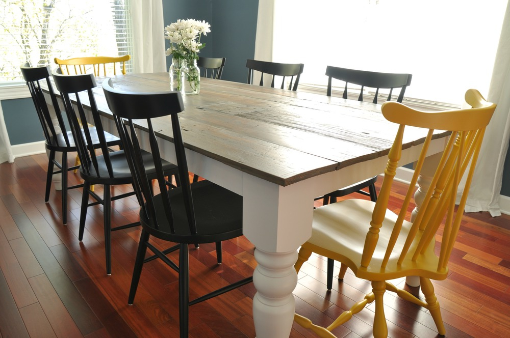 Newest Farmhouse Dining Table Sets – Castrophotos Within Farm Dining Tables (View 11 of 20)