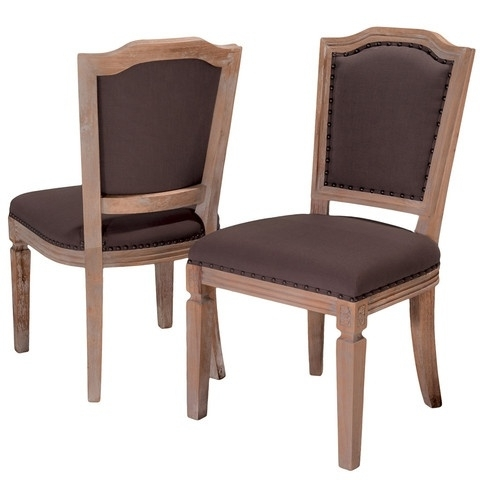 Newest Garten Onyx Chairs With Greywash Finish Set Of 2 Inside 120 Best Dining Room Furniture Images On Pinterest (Gallery 6 of 20)