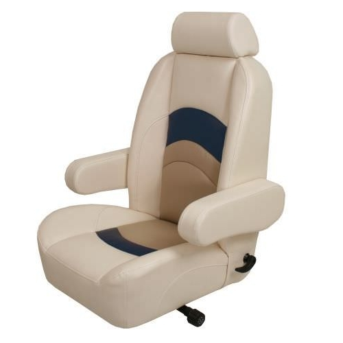 Newest Helm Seat / For Boats / With Armrests / Reclining Backrest – Hs1000 With Helms Arm Chairs (Gallery 8 of 20)