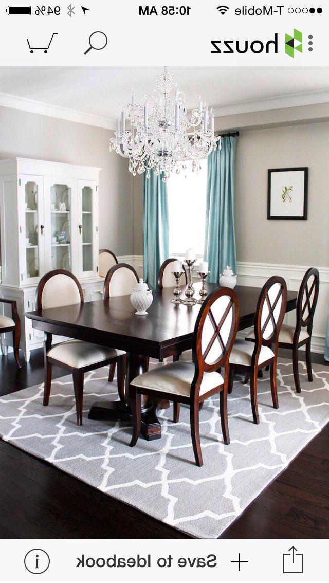 Newest Helms 7 Piece Rectangle Dining Sets Inside Pintoni Helm On Dining Room (View 12 of 20)