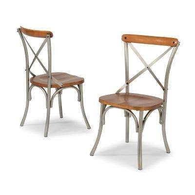 Newest Home Styles – Dining Chairs – Kitchen & Dining Room Furniture – The With Regard To Carmel Oak Side Chairs (View 8 of 20)