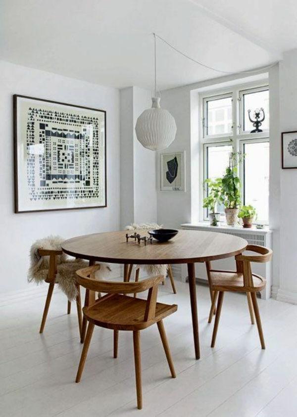 Newest Lassen Round Dining Tables With Inspirierende Holztische Lassen Die Wohnung Naturnah Aussehen (View 18 of 20)