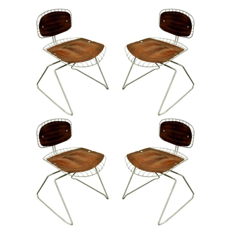 Newest Laurent Wood Side Chairs Regarding Set Of Eight Beaubourg Chairs Designedmichel Cadestin And (View 6 of 20)